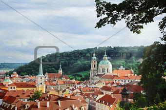 Рanoramic view of Prague