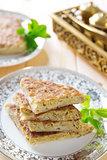 Stuffed Arabic bread Mutabbaq