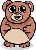 cartoon kawaii bear illustration