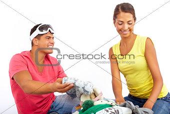 Choosing clothes