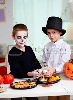Halloween fright