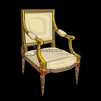 classical style chair