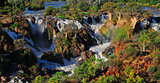 Epupa waterfall panorama, Namibia