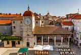 Church of Saint Sebastian in the Center of Trogir, Croatia