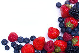 frame their mix of juicy berries