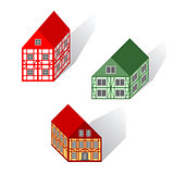Framework houses set