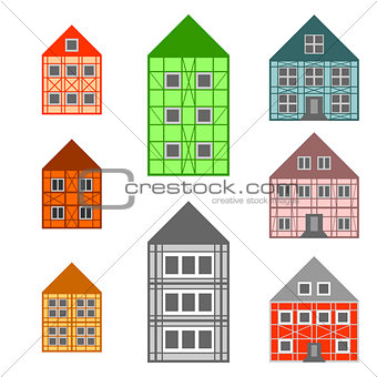 Framework houses set