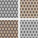 Design seamless hexagon pattern