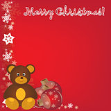Merry christmas 2014-2015  new year Backgrounds for print