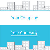 Real estate business cards for your company