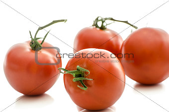 A group of tomatoes