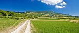 Amazing green mountain scenery in Croatia