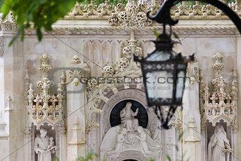 Old European Arhitecture  / Quinta da Regaleira Palace in Sintra