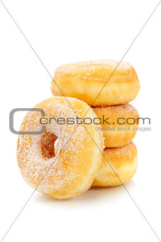 classic sugary donuts