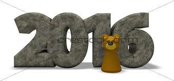 bear year 2016