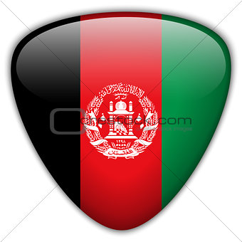 Afghanistan Flag Glossy Button