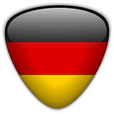 Germany Flag Glossy Button