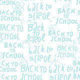 Seamless back to school pattern, vector Eps10 illustration.