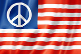 United States peace flag