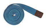 Blue belt isolated