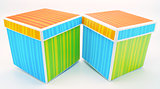 Two Colorful Gift Boxes