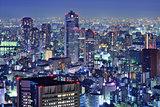 Tsukiji, Tokyo Skyline