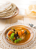 Vegetable curry dhal