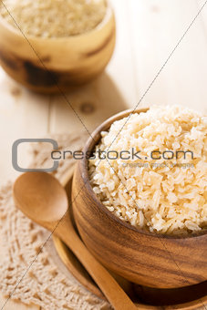 India cooked organic basmati brown rice ready to eat