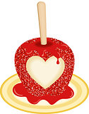 Sweet Candy Apple Love