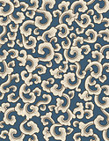 Abstract pattern on blue background