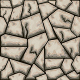 Brown stone seamless pattern