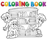 Coloring book pupil theme 2