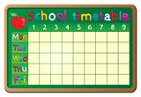 School timetable theme image 2