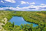 Krka river national park - Brljan lake