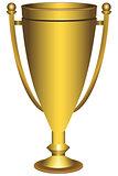 Awarding cup