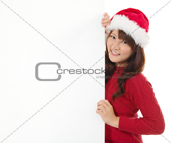 Christmas young gir