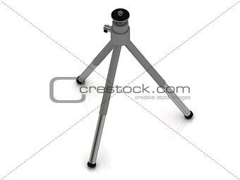 Aluminum tripod for the camera