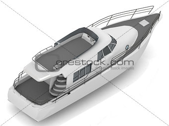 Premium motorized pleasure boat