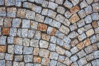 old square stone pattern