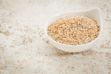 unhulled sesame seeds