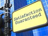 Satisfaction Guaranteed - Roadsign.