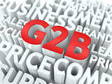 G2B. The Wordcloud Concept.
