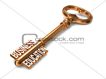 Business Education - Golden Key.