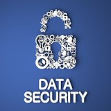 Data Security Concept.