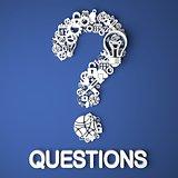 Questions Concept.
