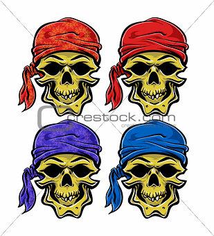 Skallywag Pirate Skull.