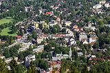 City center of Zakopane