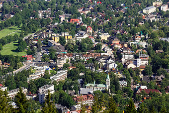 City center of Zakopane