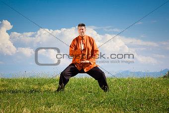 Qi-Gong outdoor