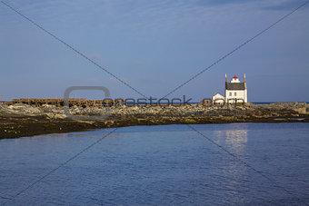 Old norwegian lighthouse